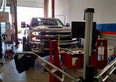 Truck Repair Work at Top Notch Auto & More